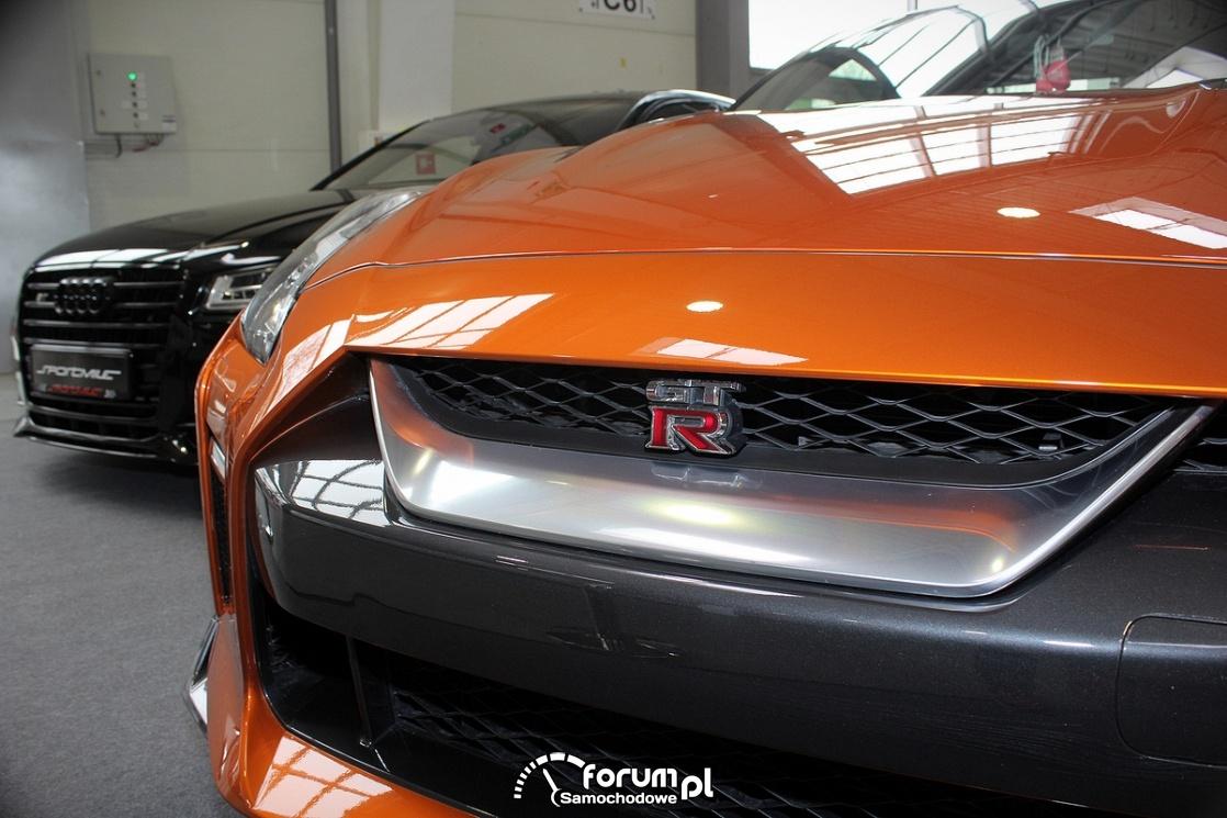 Nissan GT-R, wlot powietrza