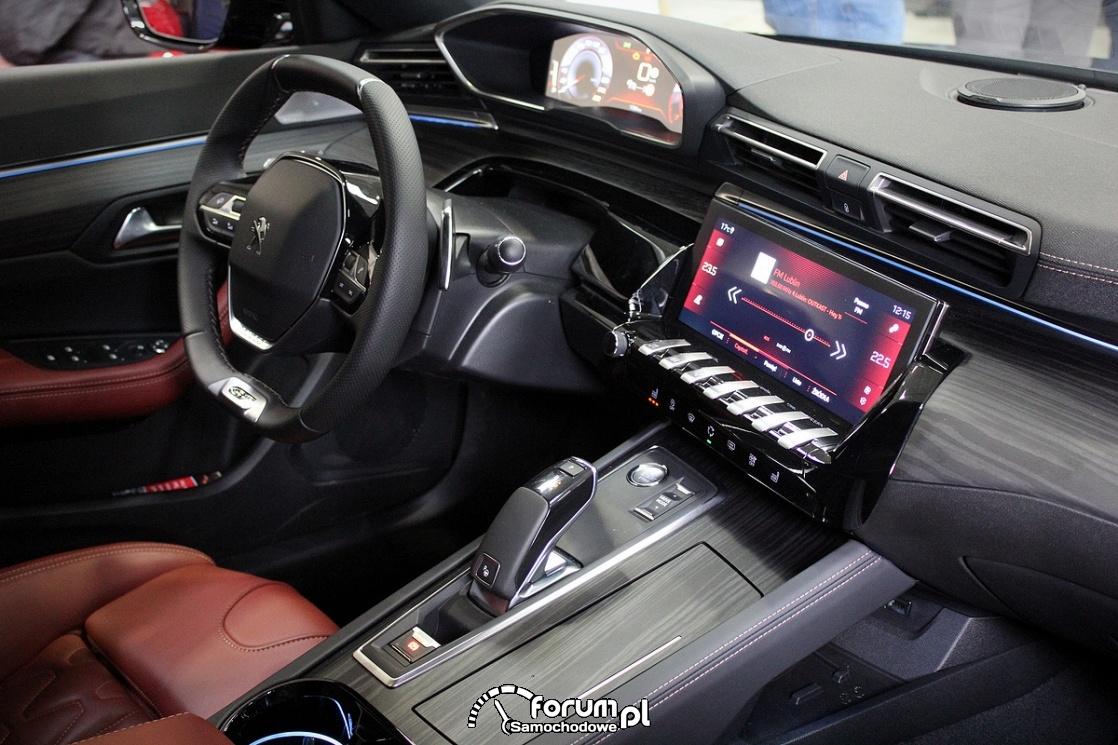 Peugeot 508, wnętrze