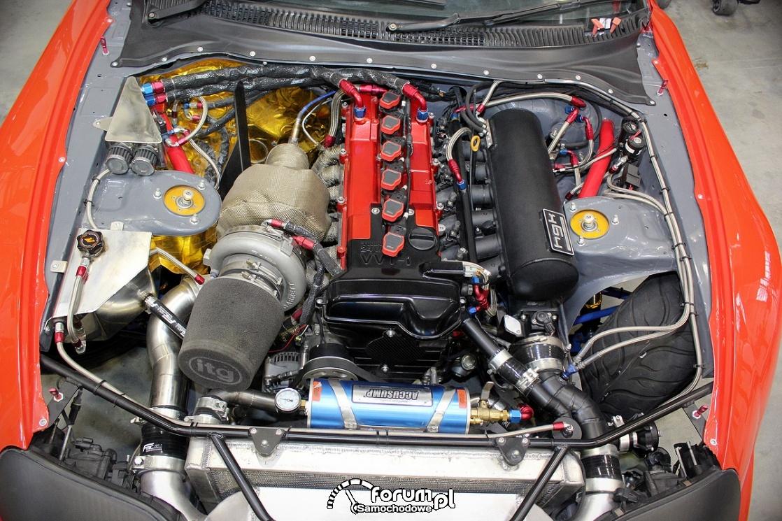 Silnik 2JZ GE nitrous Express Kit, 950KM 1100Nm, Toyota Supra