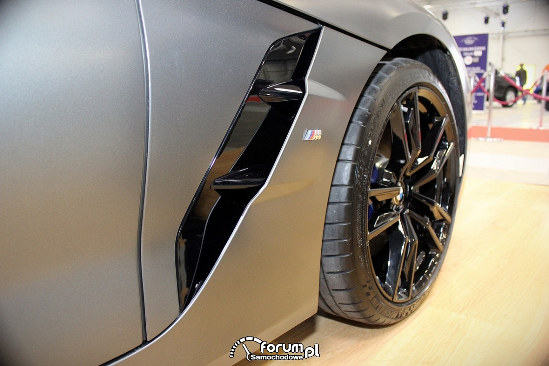 Skrzela, boczne wloty powietrza, BMW Z4