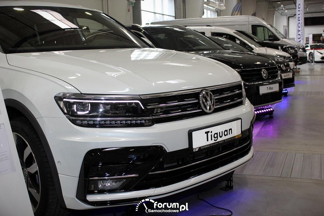 Volkswagen Tiguan, przód
