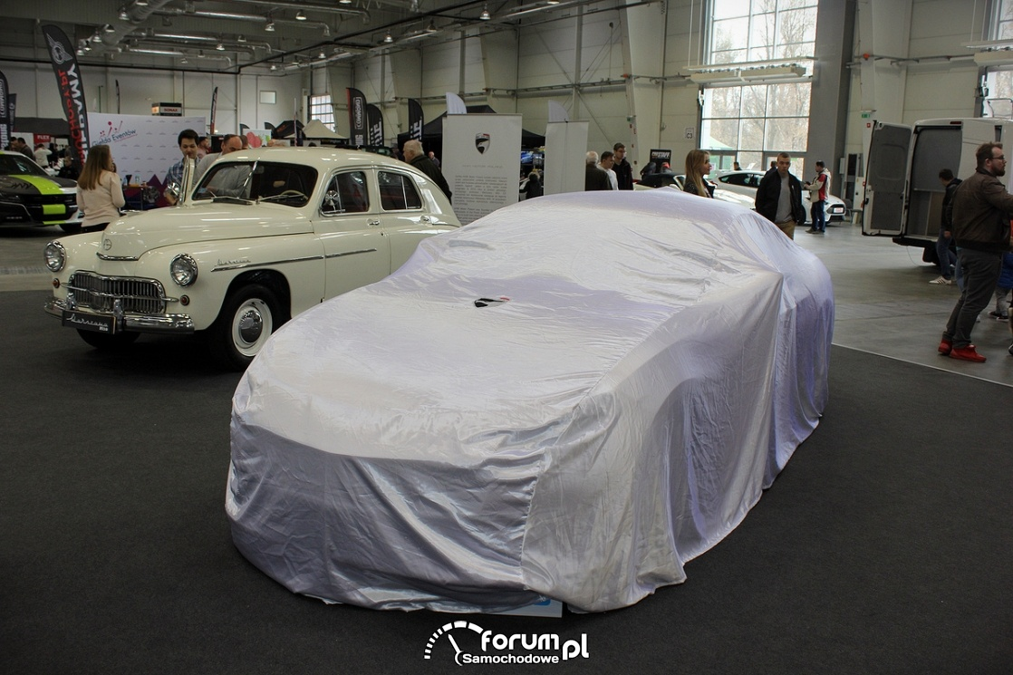 Warszawa M20 GT przed prezentacją