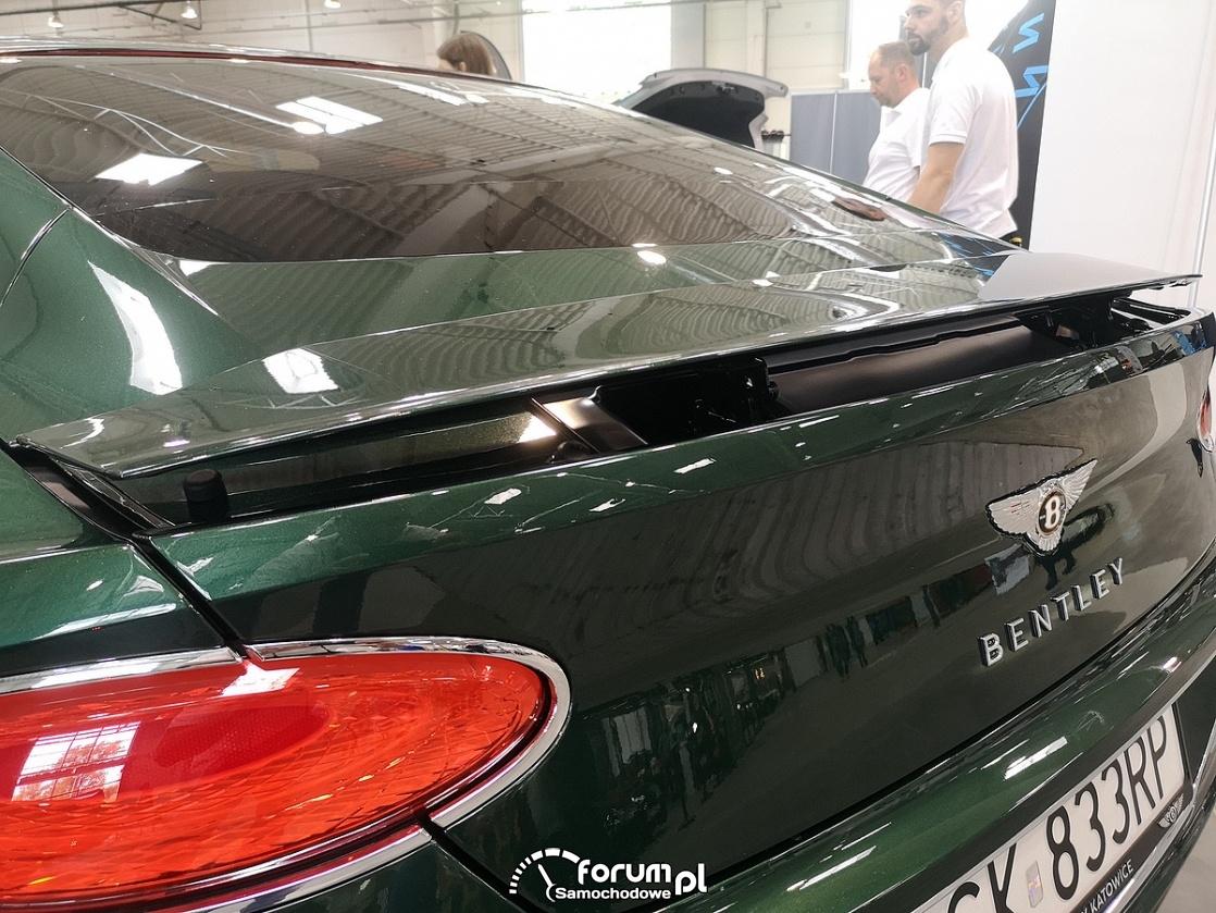 Bentley Continental Gt, spoiler tylnej klapy