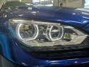 BMW M6, przednia lampa