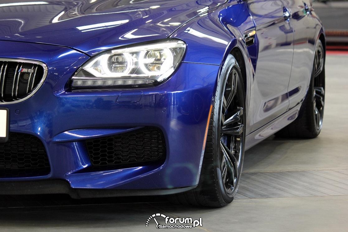 BMW M6, światła, ringi