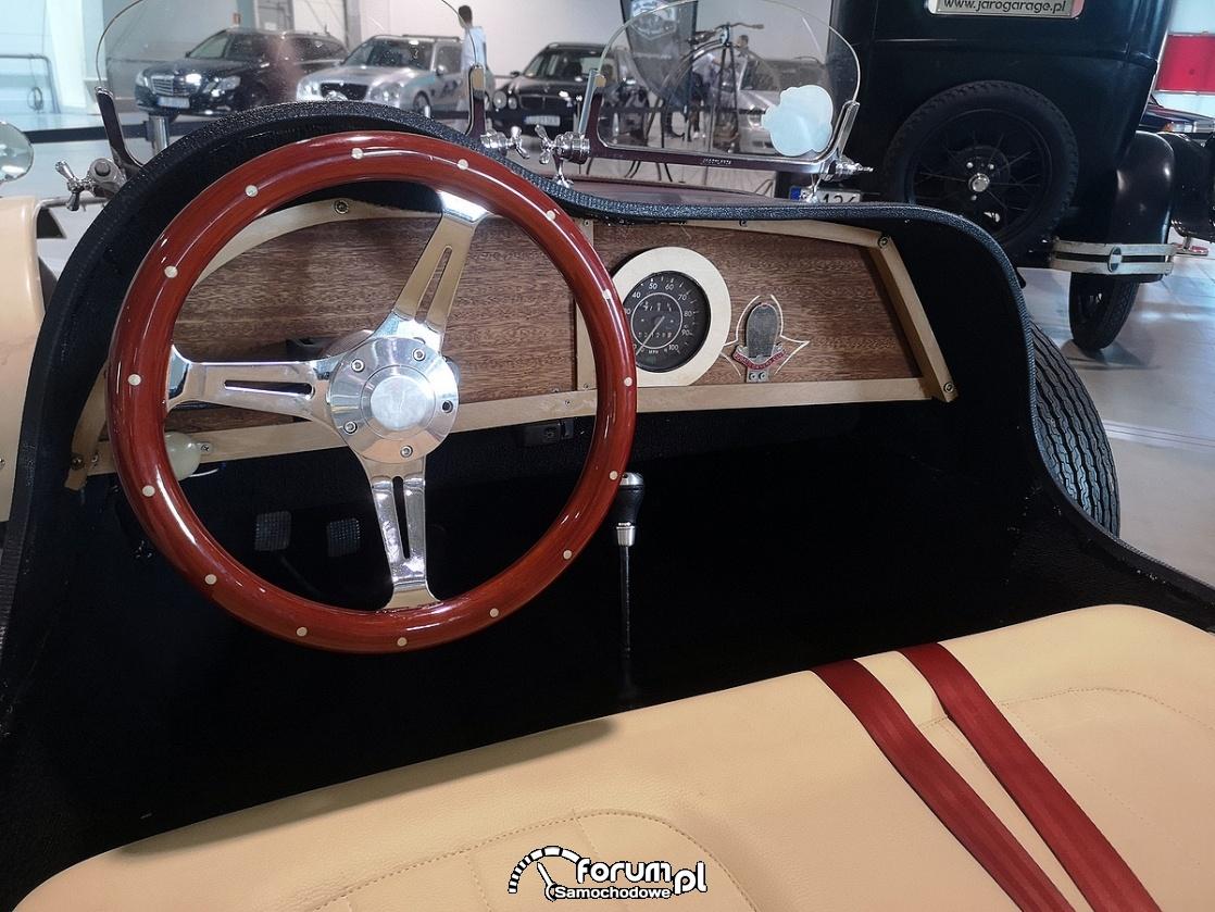 Bugatti 1927, wnętrze