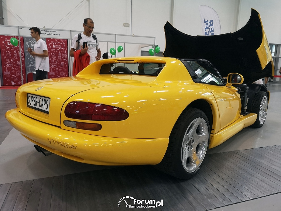 Dodge Viper RT-10, tył