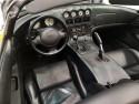 Dodge Viper, wnętrze, czarna skóra