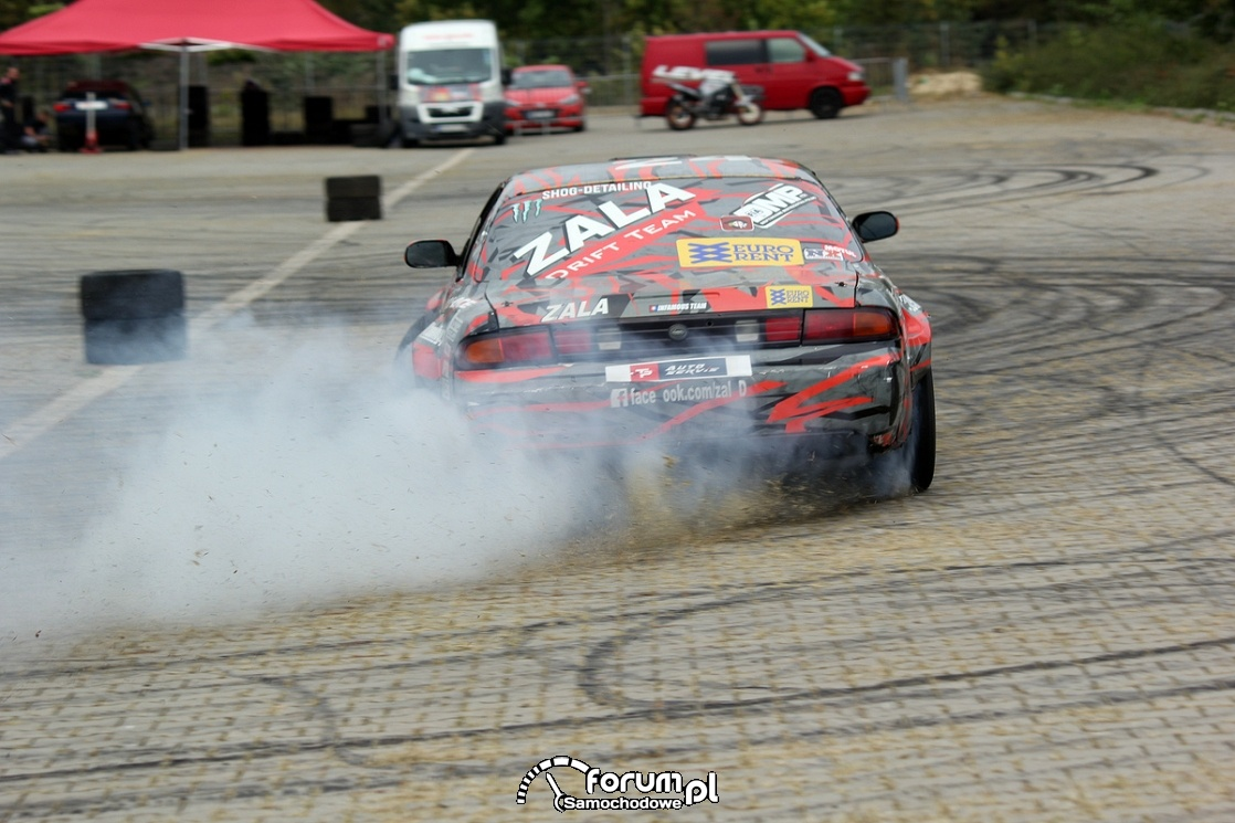 Drift, Nissan s14 2JZ 750HP 900Nm, tył