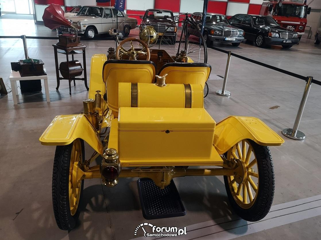 Ford Model T Speedster 1914 rok, tył