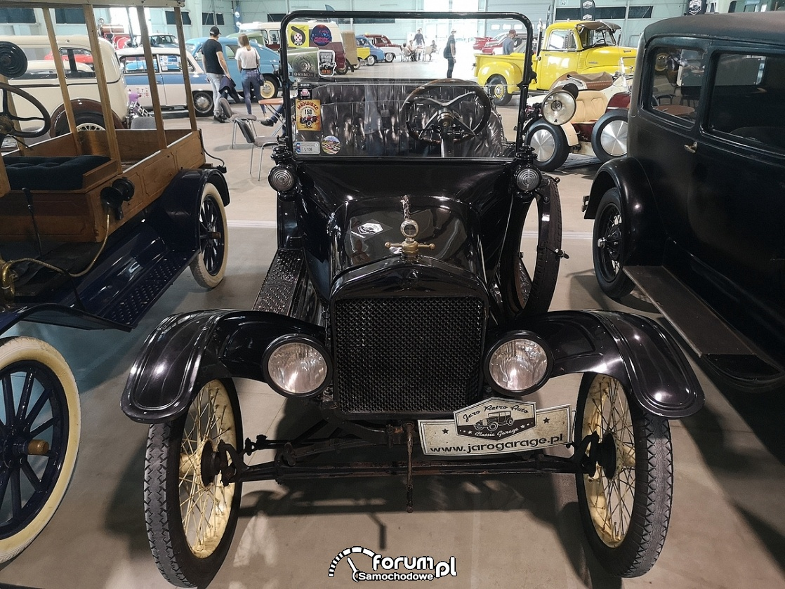 Ford T, Samochód z otwartym dachem