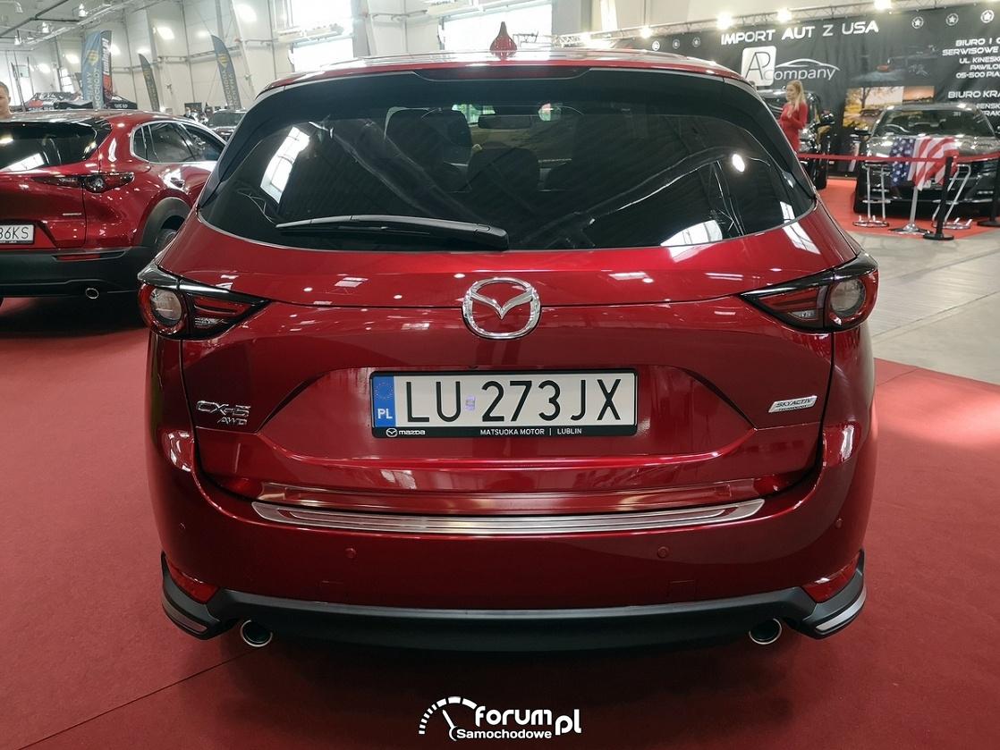 Mazda CX-5 AWD, tył