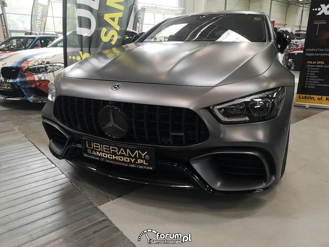 Mercedes GT 63S AMG, przód