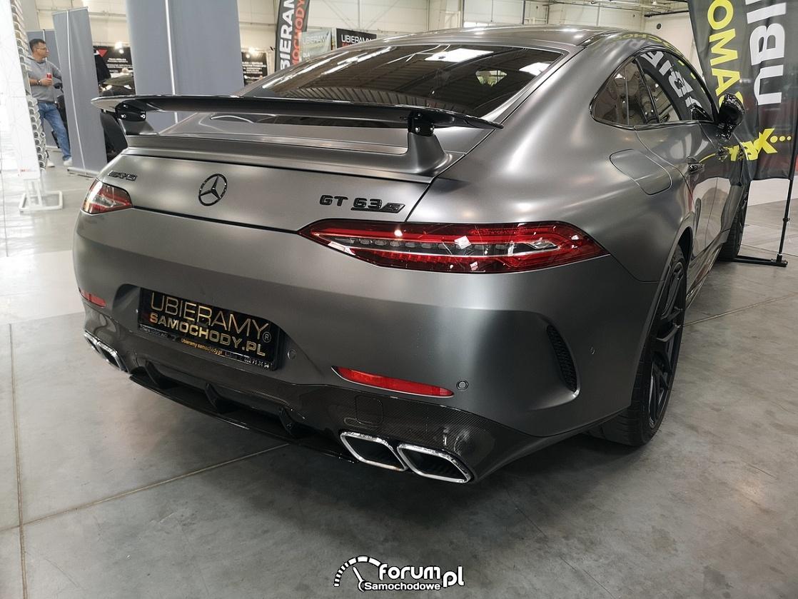 Mercedes GT 63S AMG, tył