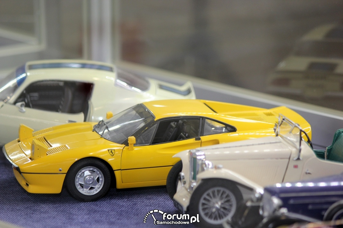 Modele samochodów - Ferrari