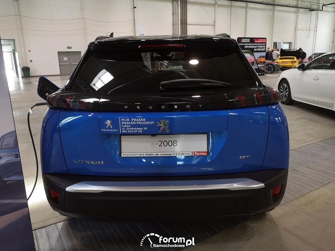 Peugeot e2008 GT, tył