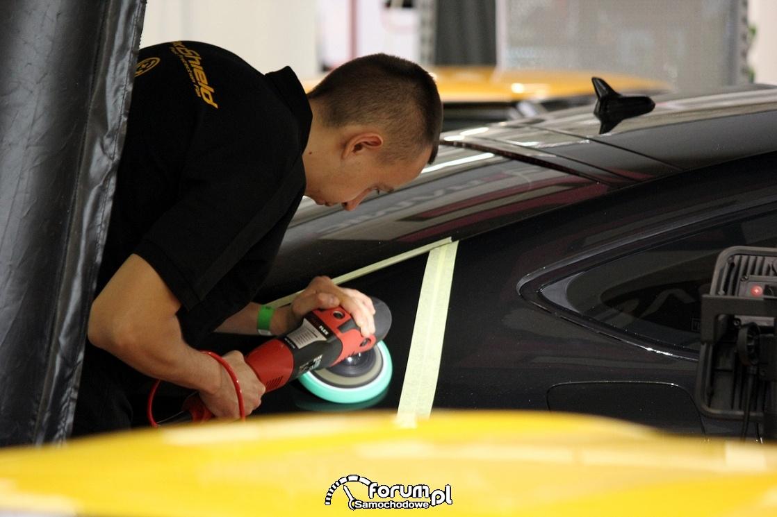 Polerowanie samochodu, auto detaling