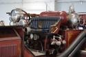 American LaFrance Typ 75, 1925 rok, wóz strażacki, siedzenie kierowcy