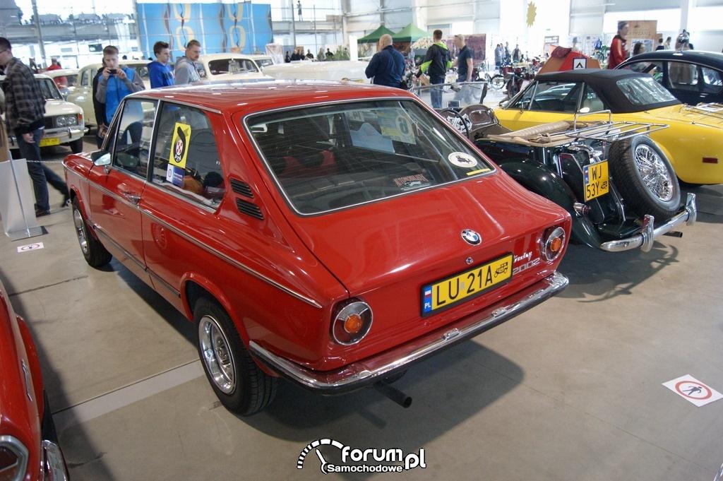 BMW 2002 Touring, 1974 rok, tył