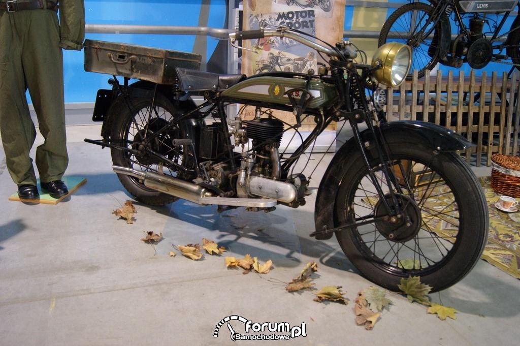 BSA 500 S, 1927 rok