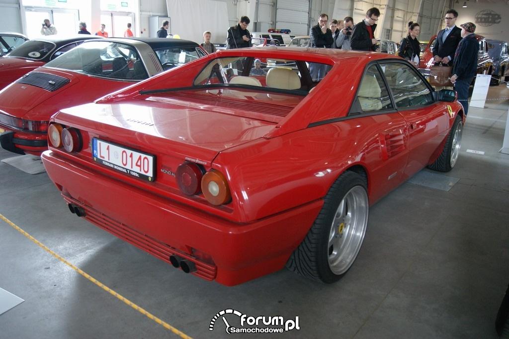 Ferrari MondialT, 1989 rok, tył