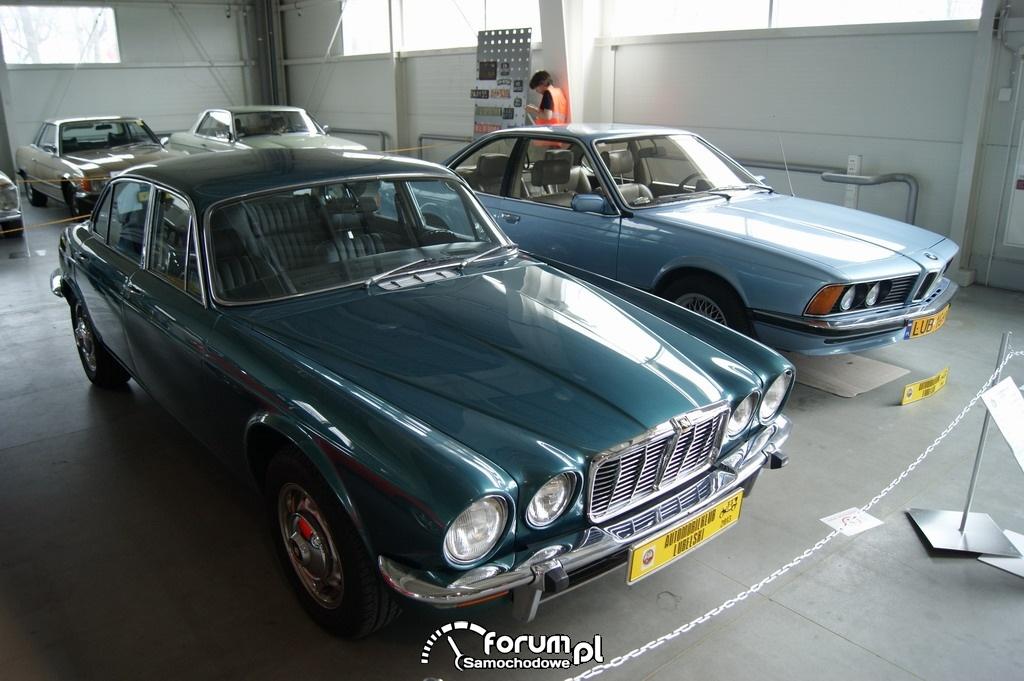 Jaguar XJ6 Seria II Long, 1977 rok, przód