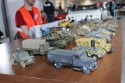 Miniaturowe modele samochodów wojskowych