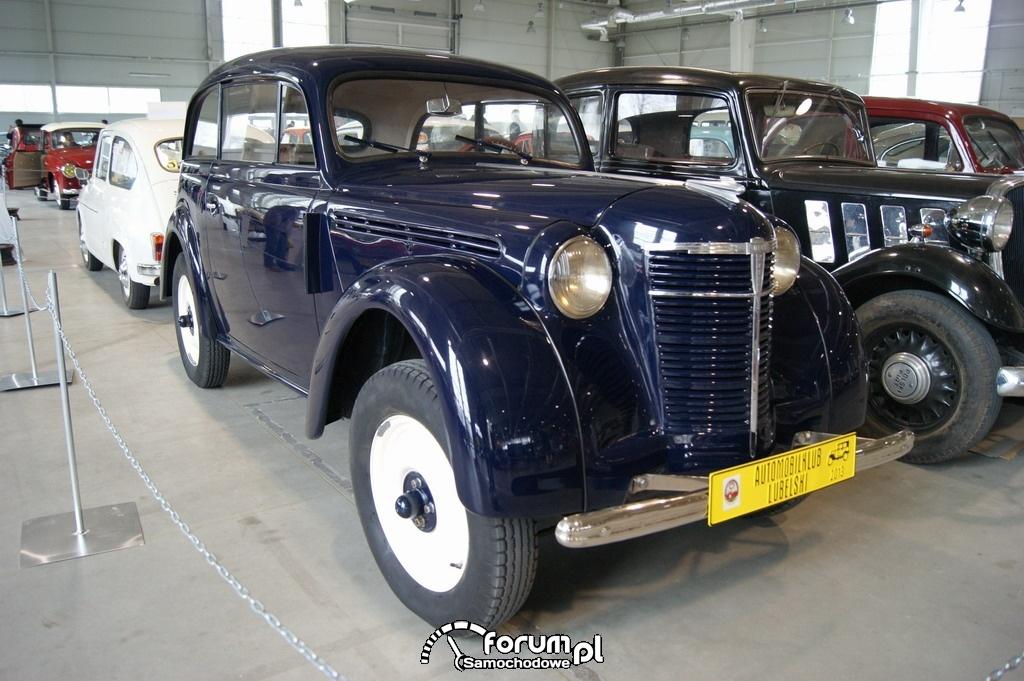 Opel Kadett II, 1938 rok