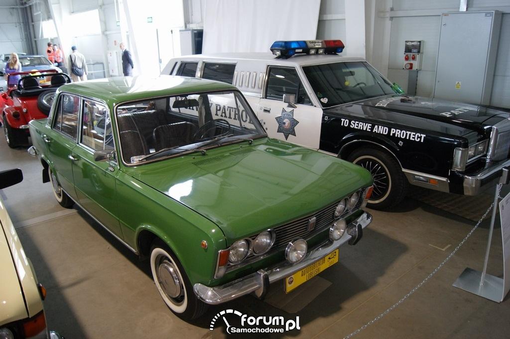 Polski Fiat 125p, 1971 rok, zielony, 2