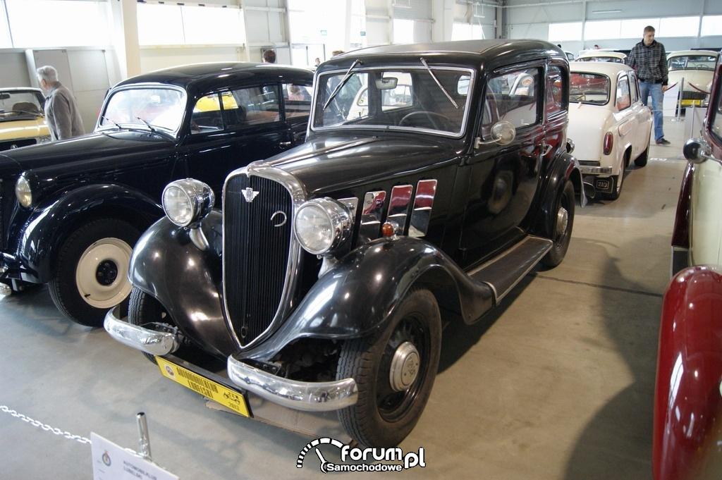 Polski Fiat 508 Junak, 1939 rok, przód