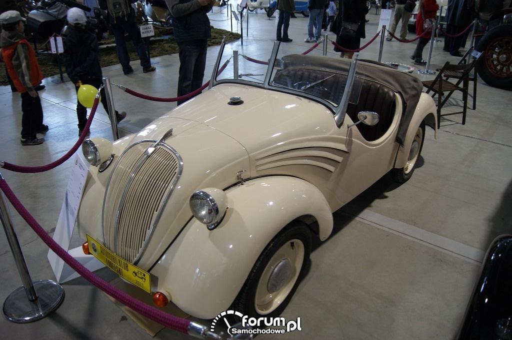Rosengart LR4 N2, 1938 rok