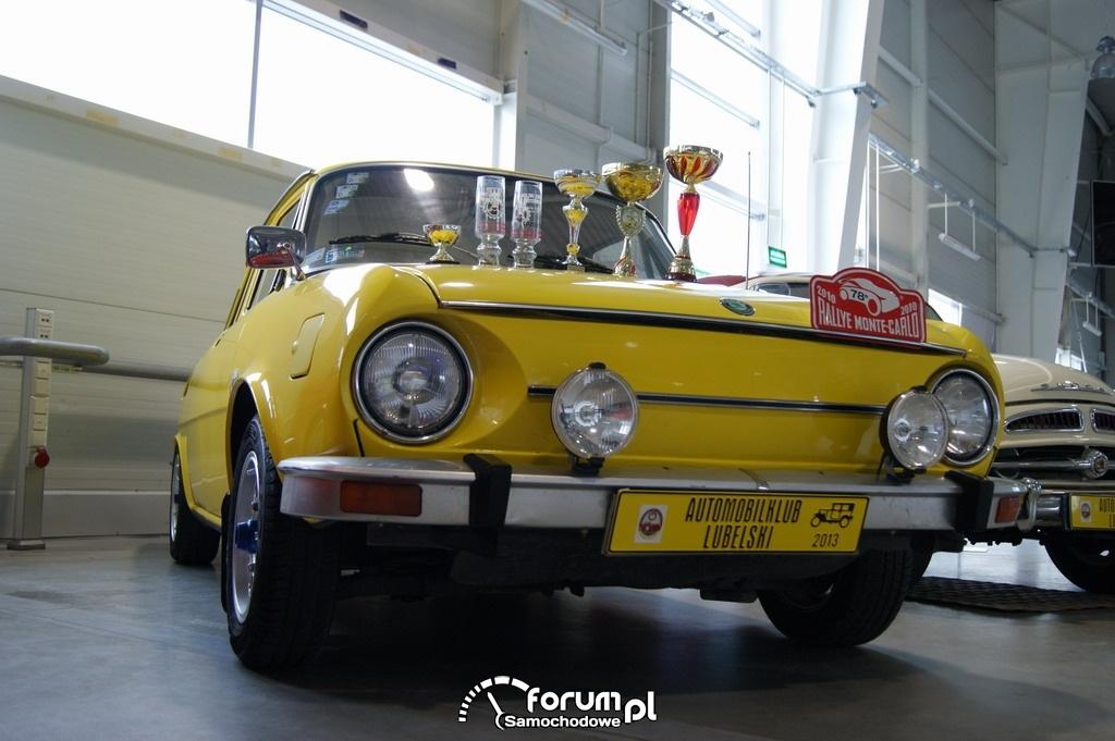 Skoda 110L, 1972 rok