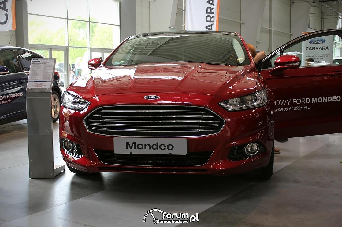 Ford Mondeo, przód