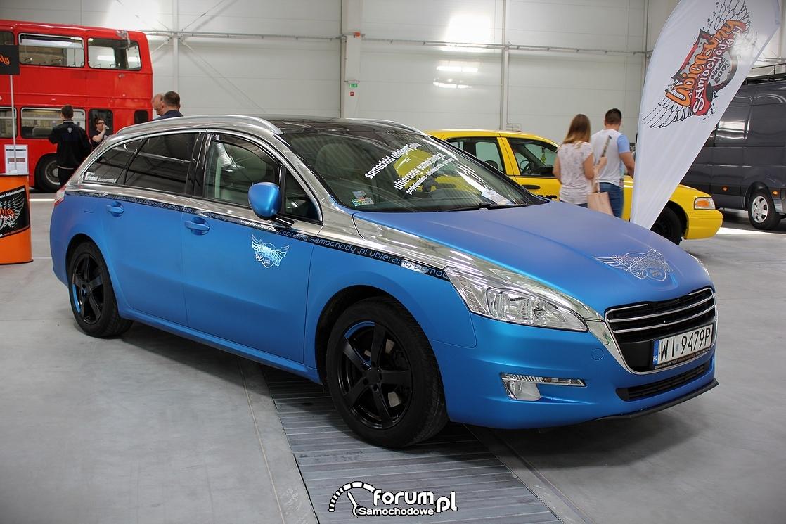 Niebieski mat, Peugeot 508 SW