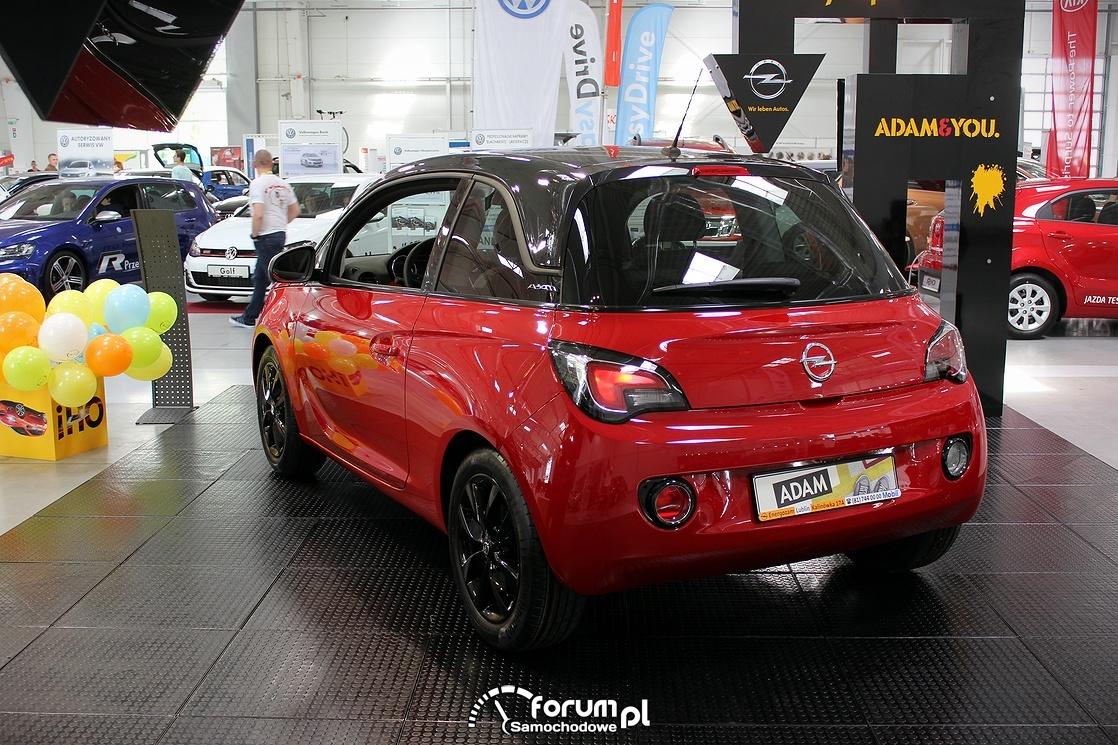 Opel Adam, tył
