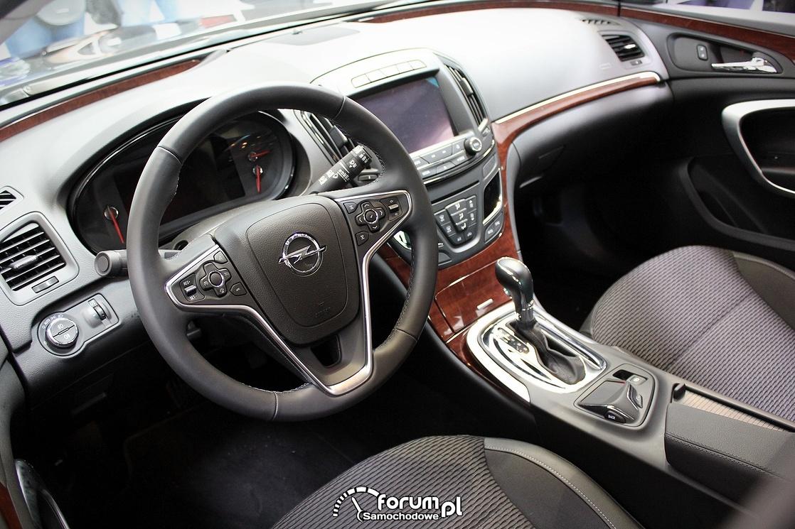 Opel Insygnia, wnętrze