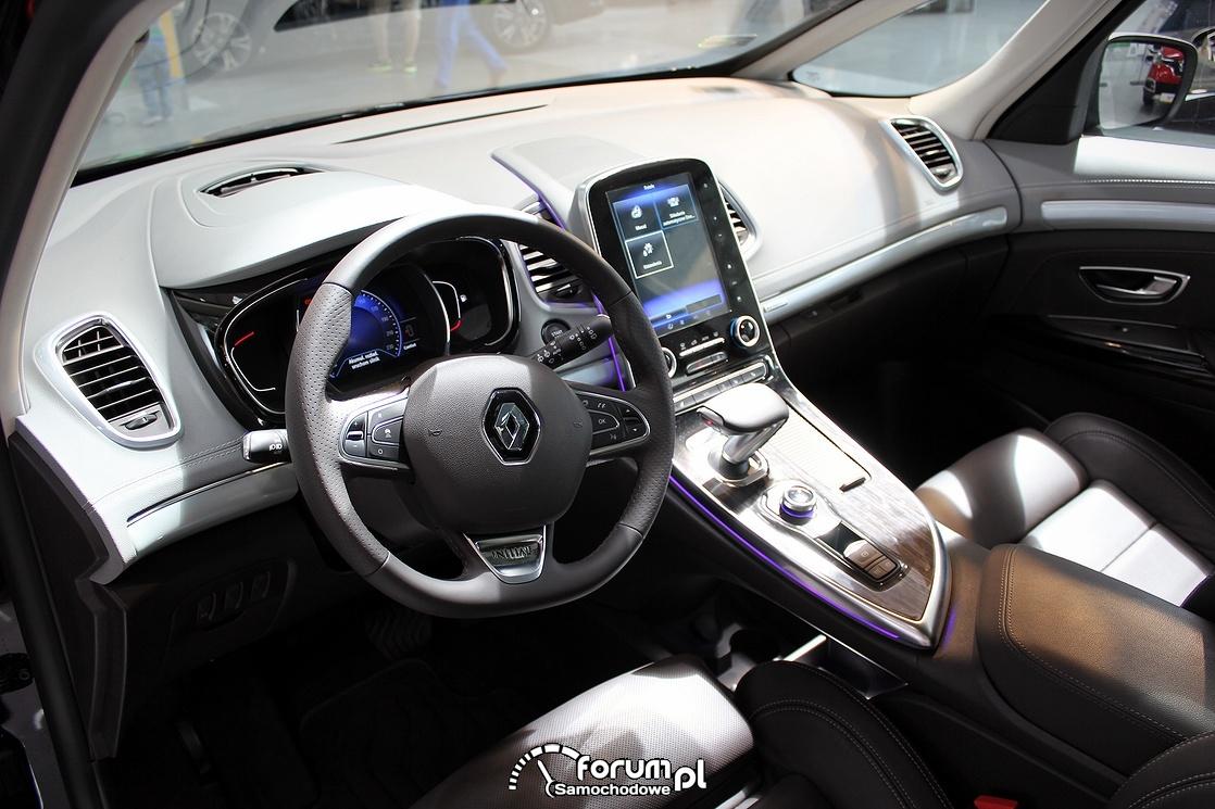 Renault Espase Initiale, kierownica i deska rozdzielcza