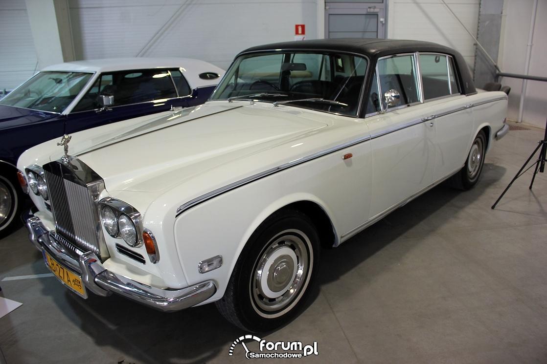 Rolls Royce Silver Shadow 1973r, V8 6,75l OHV 220KM
