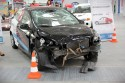 Rozbity przód samochodu