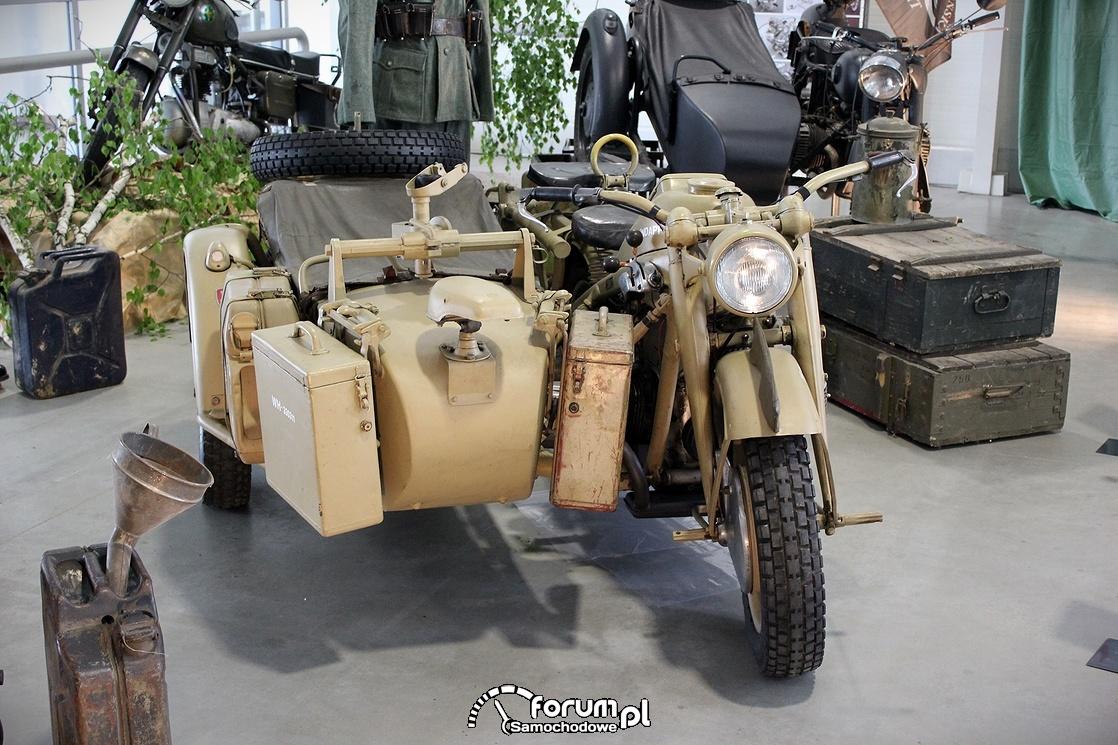 Zundapp KS 750 26KM, 1943 rok