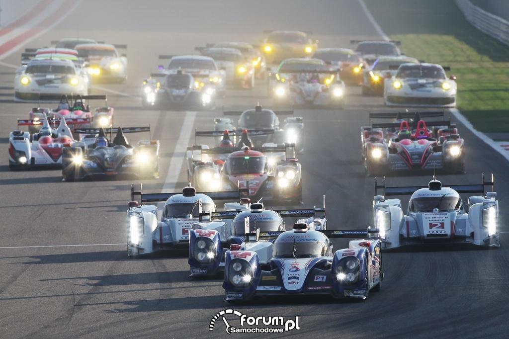 6-godzinny wyścig Bahrajnu, samochody na torze