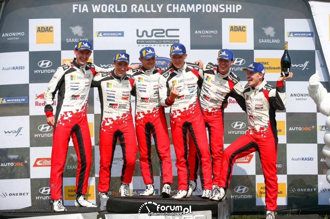 ADAC Rally Deutschland 2019, zwycięzcy - hat-trick Toyoty