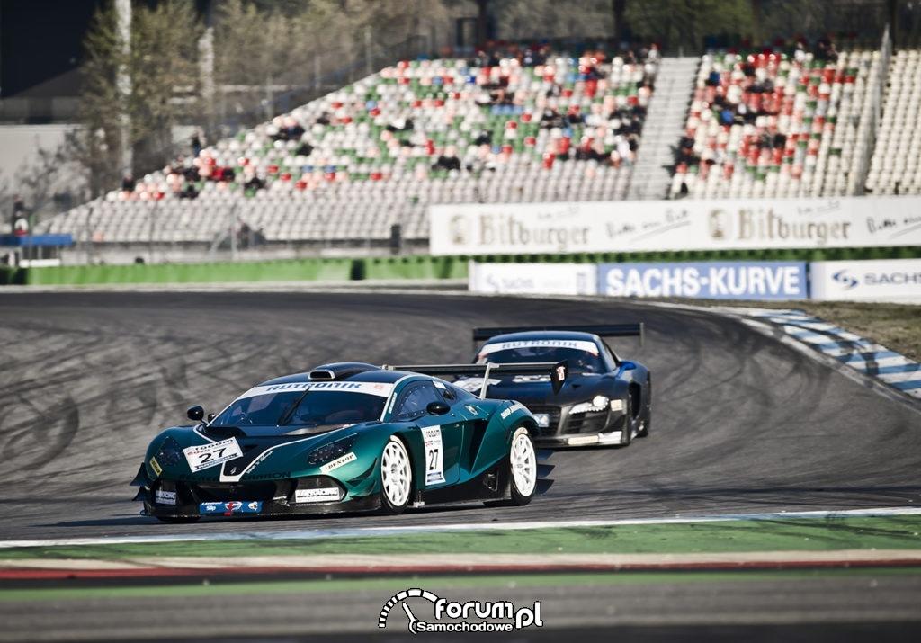 Arrinera Hussarya GT, tor wyścigowy Hockenheim w Niemczech