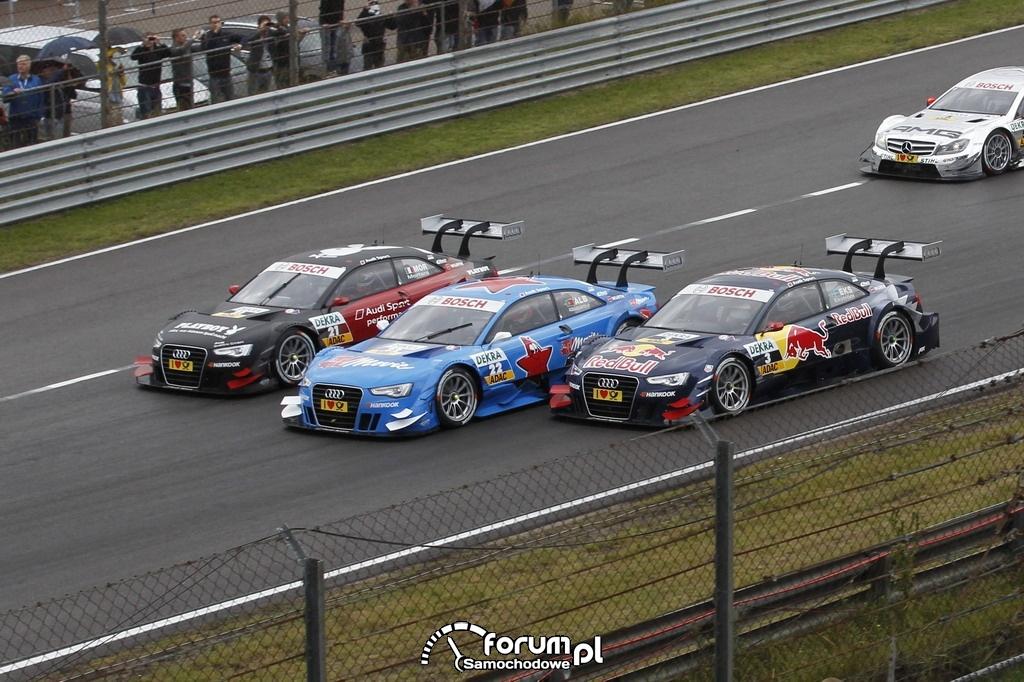 Audi A5 DTM, motorsport, Zandvoort