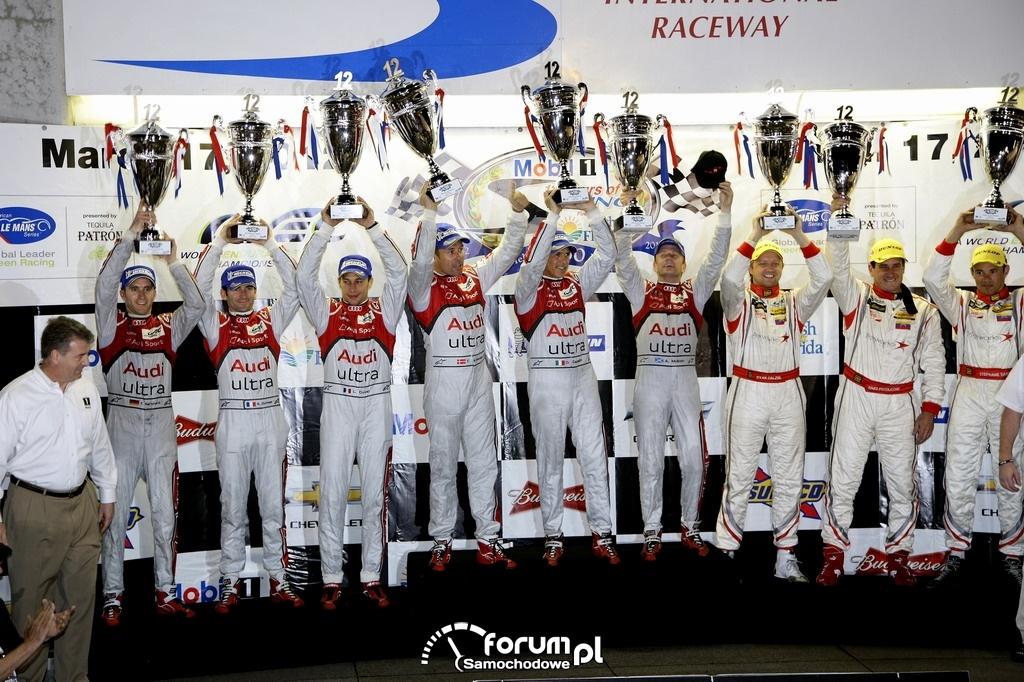 Audi MotorSport na podium, 1