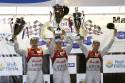 Audi MotorSport na podium, 2