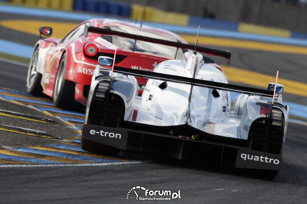 Audi R18 e-tron quattro, 24 godzinny wyścig Le Mans, 2