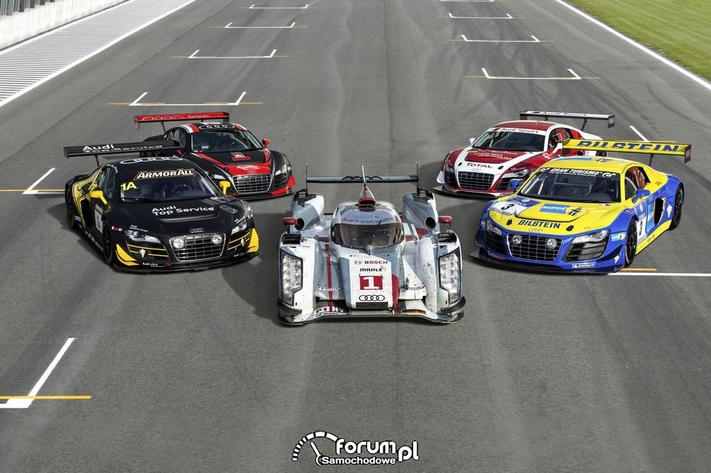 Audi R18 e-tron quattro, Audi R8 LMS