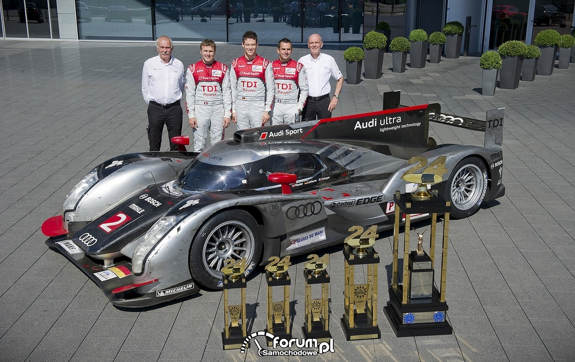 Audi R18 e-tron quattro, Le Mans, puchary