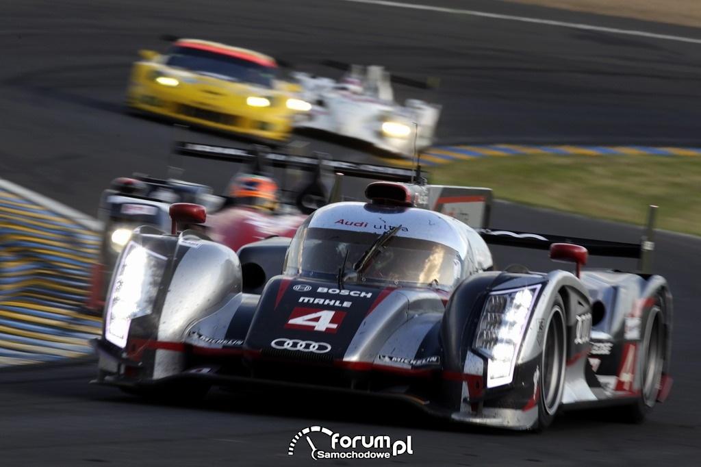 Audi R18 ultra, 24 godzinny wyścig Le Mans, 4
